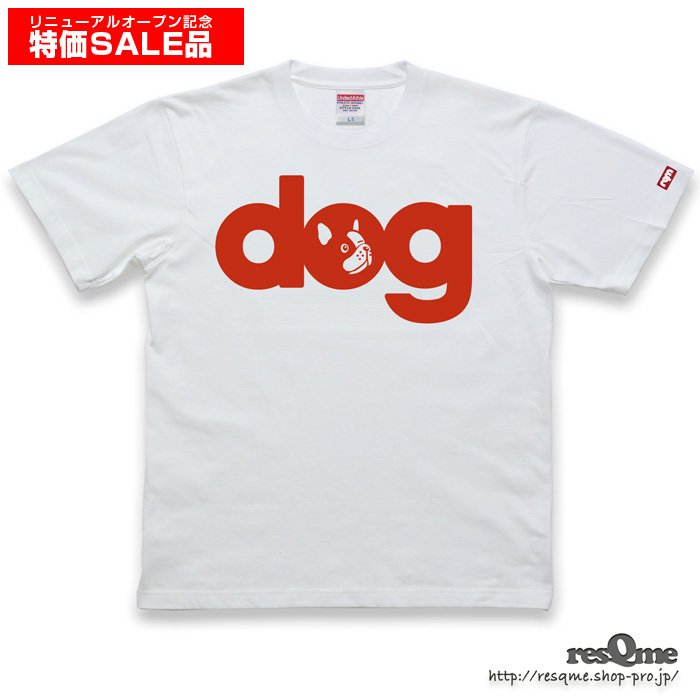 <img class='new_mark_img1' src='//img.shop-pro.jp/img/new/icons16.gif' style='border:none;display:inline;margin:0px;padding:0px;width:auto;' />【限定SALE】dog -FrenchBulldog- TEE 通常価格:4,380円