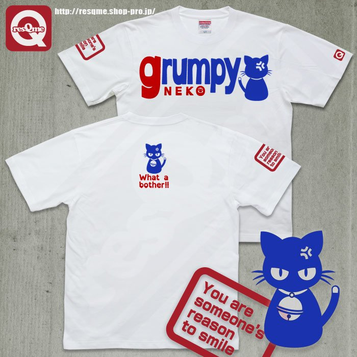 grumpy NEKO (RBlue x Red/White)