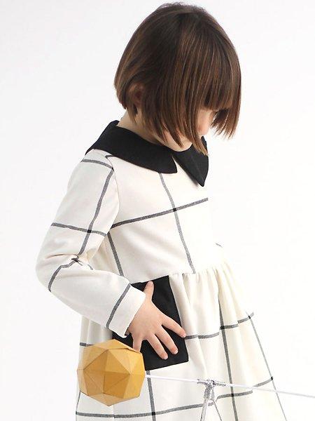 MOTORETA モトレタ YUMIKO DRESS  長袖ワンピース ホワイト