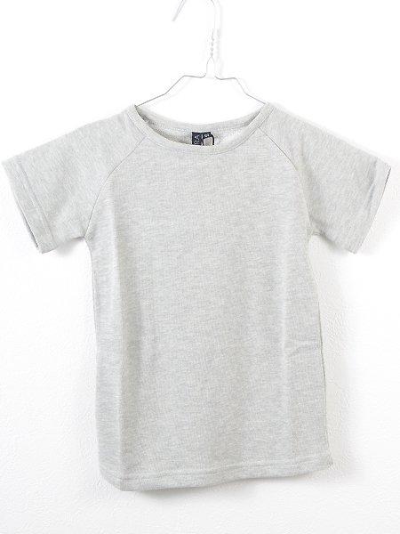 BYCLARA バイクララ Brian sweat tee 裏毛五分袖Tシャツ