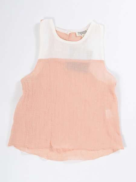 <img class='new_mark_img1' src='//img.shop-pro.jp/img/new/icons8.gif' style='border:none;display:inline;margin:0px;padding:0px;width:auto;' />Popelin ポペリン  Pink sleeveless shirt タンクトップ
