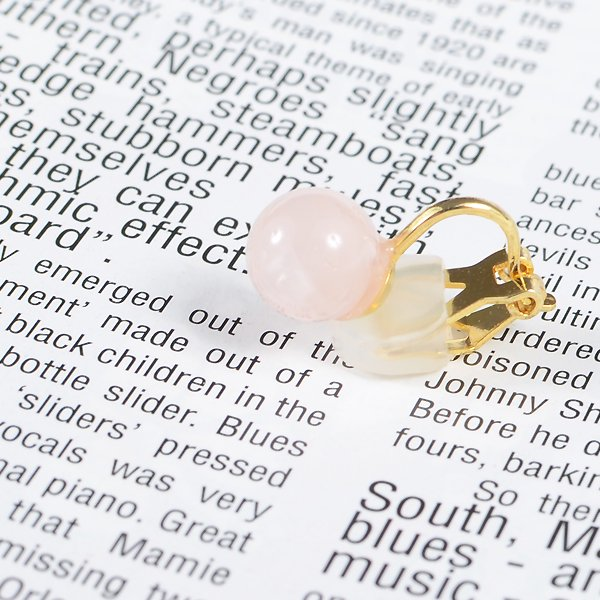 <img class='new_mark_img1' src='https://img.shop-pro.jp/img/new/icons8.gif' style='border:none;display:inline;margin:0px;padding:0px;width:auto;' />UI. ウイ maru earring マルイヤリング ピンク