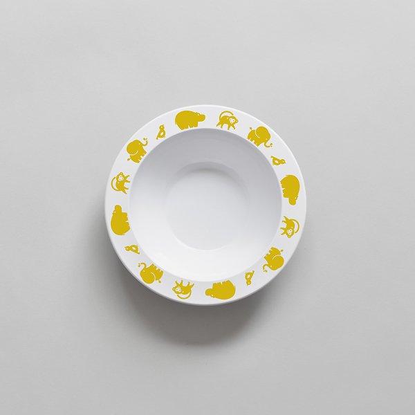 <img class='new_mark_img1' src='https://img.shop-pro.jp/img/new/icons8.gif' style='border:none;display:inline;margin:0px;padding:0px;width:auto;' />BUDDYANDBEAR バディーアンドベアー Wild Animal Bowl (Yellow) ワイルドアニマルボウル