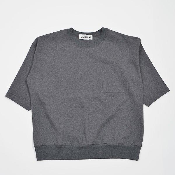 <img class='new_mark_img1' src='https://img.shop-pro.jp/img/new/icons8.gif' style='border:none;display:inline;margin:0px;padding:0px;width:auto;' />UNIONINI ユニオニーニ heavyweight T-shirt ヘビーウェイトTシャツ チャコール レディースサイズ