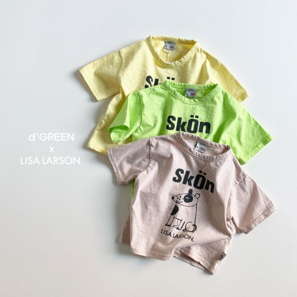 <img class='new_mark_img1' src='https://img.shop-pro.jp/img/new/icons8.gif' style='border:none;display:inline;margin:0px;padding:0px;width:auto;' />digreen ディグリーン Lisa Larson Skon 半袖Tシャツ 3色