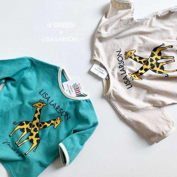 <img class='new_mark_img1' src='https://img.shop-pro.jp/img/new/icons8.gif' style='border:none;display:inline;margin:0px;padding:0px;width:auto;' />digreen ディグリーン Lisa Larson Lisa giraffe 半袖Tシャツ 2色