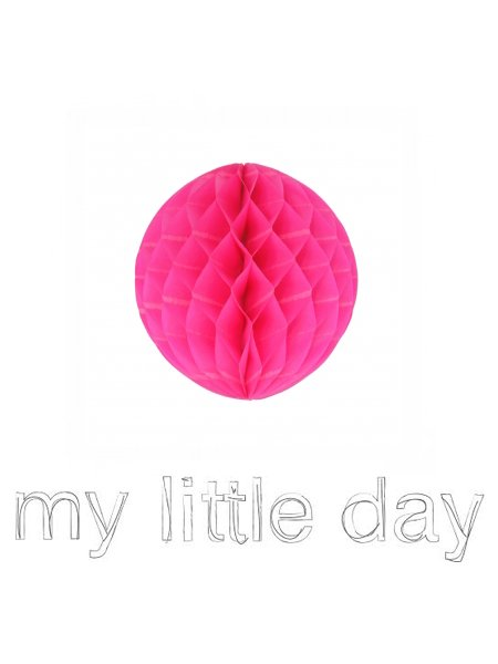 <img class='new_mark_img1' src='//img.shop-pro.jp/img/new/icons8.gif' style='border:none;display:inline;margin:0px;padding:0px;width:auto;' />My Little Day マイリトルデイ ペーパーカップ ハニカムボール ヒューシャーピンク