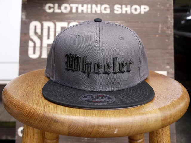 "Wheeler ""OLD ENGLISH LOGO"" CAP / Charcoal"