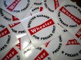 "Wheeler ""FS LOGO"" CIRCLE STICKER 5Pac/ ウィーラー FSロゴサークルステッカー5枚入"