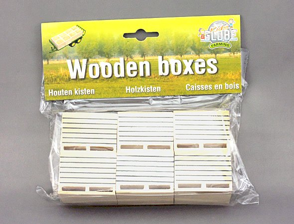Kids Globe 1/32 Wooden Boxes
