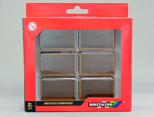 BRITAINS 1/32 Potato Boxes