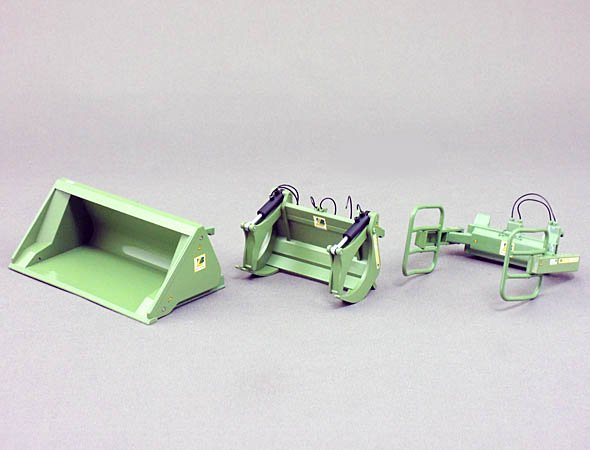 Wiking 1/32 FrontLoader Set A (Bressel&Lade Green)