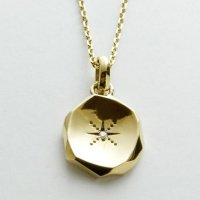<img class='new_mark_img1' src='//img.shop-pro.jp/img/new/icons49.gif' style='border:none;display:inline;margin:0px;padding:0px;width:auto;' />GARNI - K10 Amulet Pendant-L