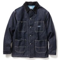 <img class='new_mark_img1' src='//img.shop-pro.jp/img/new/icons5.gif' style='border:none;display:inline;margin:0px;padding:0px;width:auto;' />RADIALL - T.N. COVERALL DENIM