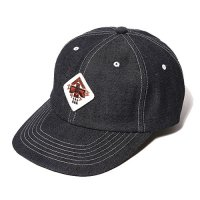 <img class='new_mark_img1' src='//img.shop-pro.jp/img/new/icons49.gif' style='border:none;display:inline;margin:0px;padding:0px;width:auto;' />CALEE - WAPPEN DENIM CAP