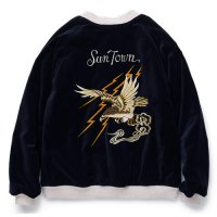 <img class='new_mark_img1' src='//img.shop-pro.jp/img/new/icons5.gif' style='border:none;display:inline;margin:0px;padding:0px;width:auto;' />RADIALL - FAR EAST - SOUVENIR JACKET