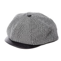 <img class='new_mark_img1' src='//img.shop-pro.jp/img/new/icons5.gif' style='border:none;display:inline;margin:0px;padding:0px;width:auto;' />CALEE - Tweed ×Leather Casquette