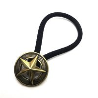 CALEE - STAR CONCHO BRASS