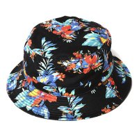 <img class='new_mark_img1' src='//img.shop-pro.jp/img/new/icons49.gif' style='border:none;display:inline;margin:0px;padding:0px;width:auto;' />CALEE - HAWAIIAN PATTERN BUCKET HAT