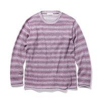 <img class='new_mark_img1' src='//img.shop-pro.jp/img/new/icons5.gif' style='border:none;display:inline;margin:0px;padding:0px;width:auto;' />RADIALL - HORIZON CREW NECK SWEATER L/S