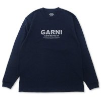 <img class='new_mark_img1' src='//img.shop-pro.jp/img/new/icons5.gif' style='border:none;display:inline;margin:0px;padding:0px;width:auto;' />GARNI - Vine Pattern L/S T-SHIRT (別注)