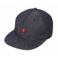 <img class='new_mark_img1' src='//img.shop-pro.jp/img/new/icons5.gif' style='border:none;display:inline;margin:0px;padding:0px;width:auto;' />CALEE - Embroidery denim cap