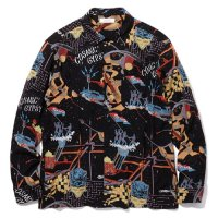 <img class='new_mark_img1' src='//img.shop-pro.jp/img/new/icons5.gif' style='border:none;display:inline;margin:0px;padding:0px;width:auto;' />RADIALL - COSMIC GIPSY OPEN COLLARED SHIRT L/S