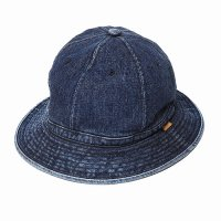 <img class='new_mark_img1' src='//img.shop-pro.jp/img/new/icons49.gif' style='border:none;display:inline;margin:0px;padding:0px;width:auto;' />CALEE - Stitched denim metro hat
