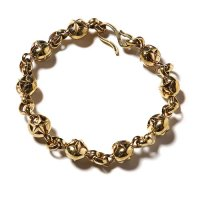 <img class='new_mark_img1' src='//img.shop-pro.jp/img/new/icons5.gif' style='border:none;display:inline;margin:0px;padding:0px;width:auto;' />CALEE - Star ball chain bracelet Brass