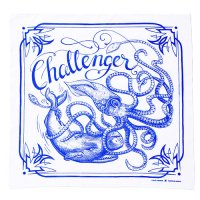 <img class='new_mark_img1' src='//img.shop-pro.jp/img/new/icons5.gif' style='border:none;display:inline;margin:0px;padding:0px;width:auto;' />CHALLENGER - OCEAN BRIGADE BANDANNA
