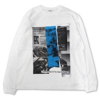 RADIALL - HEDONISM CREWNECK T-SHIRT L/S