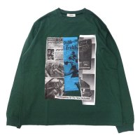 <img class='new_mark_img1' src='//img.shop-pro.jp/img/new/icons49.gif' style='border:none;display:inline;margin:0px;padding:0px;width:auto;' />RADIALL - HEDONISM CREWNECK T-SHIRT L/S