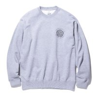 RADIALL - TEMPLE CREW NECK SWEATSHIRT L/S (40%OFF)