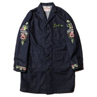 <img class='new_mark_img1' src='//img.shop-pro.jp/img/new/icons49.gif' style='border:none;display:inline;margin:0px;padding:0px;width:auto;' />CALEE - Souvenir denim shop coat