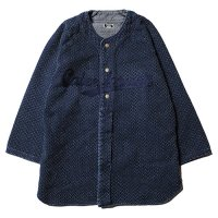 <img class='new_mark_img1' src='//img.shop-pro.jp/img/new/icons5.gif' style='border:none;display:inline;margin:0px;padding:0px;width:auto;' />CALEE - 3/4 Sleeve stitched indigo base ball shirt