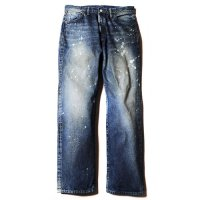 <img class='new_mark_img1' src='//img.shop-pro.jp/img/new/icons5.gif' style='border:none;display:inline;margin:0px;padding:0px;width:auto;' />CALEE - Used 501XX Type straight denim pants