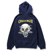 <img class='new_mark_img1' src='//img.shop-pro.jp/img/new/icons5.gif' style='border:none;display:inline;margin:0px;padding:0px;width:auto;' />CHALLENGER - SKULL & EAGLE HOODIE
