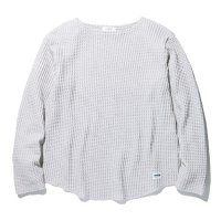 RADIALL - BIG WAFFLE BOATNECK T-SHIRT L/S