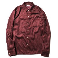 <img class='new_mark_img1' src='//img.shop-pro.jp/img/new/icons49.gif' style='border:none;display:inline;margin:0px;padding:0px;width:auto;' />CALEE - Fake suede embroidery L/S shirt