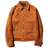<img class='new_mark_img1' src='//img.shop-pro.jp/img/new/icons5.gif' style='border:none;display:inline;margin:0px;padding:0px;width:auto;' />CALEE - 2nd type buckskin leather jacket