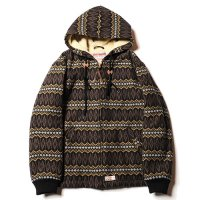 <img class='new_mark_img1' src='//img.shop-pro.jp/img/new/icons22.gif' style='border:none;display:inline;margin:0px;padding:0px;width:auto;' />CALEE - Jacquard hooded boa jacket (40%OFF)