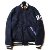 <img class='new_mark_img1' src='//img.shop-pro.jp/img/new/icons5.gif' style='border:none;display:inline;margin:0px;padding:0px;width:auto;' />CALEE - Melton wool stadium jacket