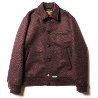 <img class='new_mark_img1' src='//img.shop-pro.jp/img/new/icons5.gif' style='border:none;display:inline;margin:0px;padding:0px;width:auto;' />CALEE - Double jacquard wave pattern sports jacket