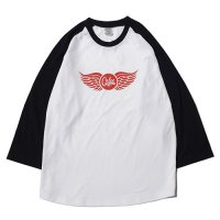 <img class='new_mark_img1' src='//img.shop-pro.jp/img/new/icons5.gif' style='border:none;display:inline;margin:0px;padding:0px;width:auto;' />CALEE - 3/4 Sleeve raglan t-shirt