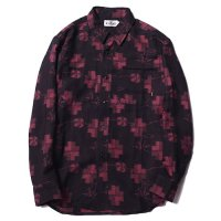 <img class='new_mark_img1' src='//img.shop-pro.jp/img/new/icons5.gif' style='border:none;display:inline;margin:0px;padding:0px;width:auto;' />CALEE - Jacquard L/S shirt