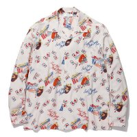 <img class='new_mark_img1' src='//img.shop-pro.jp/img/new/icons5.gif' style='border:none;display:inline;margin:0px;padding:0px;width:auto;' />RADIALL - OAKTOWN OPEN COLLARED SHIRT L/S