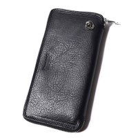 <img class='new_mark_img1' src='//img.shop-pro.jp/img/new/icons49.gif' style='border:none;display:inline;margin:0px;padding:0px;width:auto;' />CALEE - Leather round zip long wallet