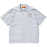 <img class='new_mark_img1' src='//img.shop-pro.jp/img/new/icons49.gif' style='border:none;display:inline;margin:0px;padding:0px;width:auto;' />CHALLENGER - S/S OROGINAL STRIPE WORK SHIRT