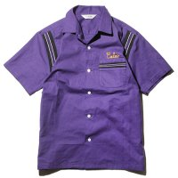 <img class='new_mark_img1' src='//img.shop-pro.jp/img/new/icons49.gif' style='border:none;display:inline;margin:0px;padding:0px;width:auto;' />CALEE - Eagle embroidery S/S bowling shirt