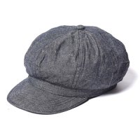 <img class='new_mark_img1' src='//img.shop-pro.jp/img/new/icons22.gif' style='border:none;display:inline;margin:0px;padding:0px;width:auto;' />CALEE - Denim casquette (40%OFF)